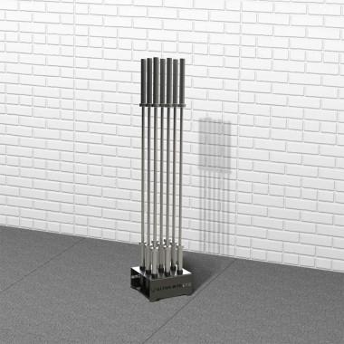 Подставка для 9 грифов со втулками на 50мм